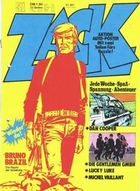 Cover Thumbnail for Zack (Koralle, 1972 series) #51/1973