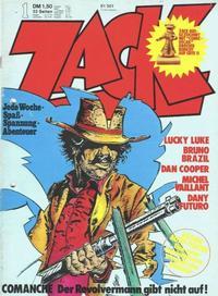 Cover Thumbnail for Zack (Koralle, 1972 series) #1/1974