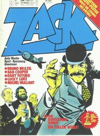 Cover Thumbnail for Zack (Koralle, 1972 series) #3/1974