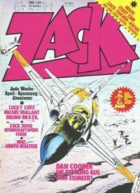 Cover Thumbnail for Zack (Koralle, 1972 series) #4/1974