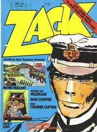 Cover Thumbnail for Zack (Koralle, 1972 series) #5/1974