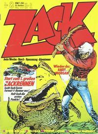 Cover Thumbnail for Zack (Koralle, 1972 series) #8/1974