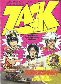 Cover Thumbnail for Zack (Koralle, 1972 series) #9/1974