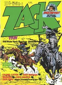 Cover Thumbnail for Zack (Koralle, 1972 series) #10/1974