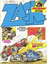 Cover Thumbnail for Zack (Koralle, 1972 series) #11/1974