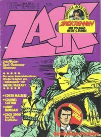 Cover Thumbnail for Zack (Koralle, 1972 series) #13/1974