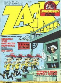 Cover Thumbnail for Zack (Koralle, 1972 series) #16/1974