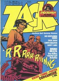 Cover Thumbnail for Zack (Koralle, 1972 series) #18/1974