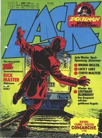 Cover Thumbnail for Zack (Koralle, 1972 series) #19/1974
