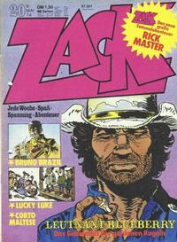 Cover Thumbnail for Zack (Koralle, 1972 series) #20/1974