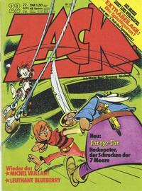 Cover Thumbnail for Zack (Koralle, 1972 series) #22/1974