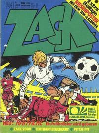 Cover Thumbnail for Zack (Koralle, 1972 series) #24/1974