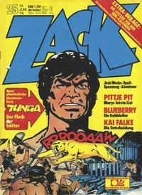 Cover Thumbnail for Zack (Koralle, 1972 series) #25/1974