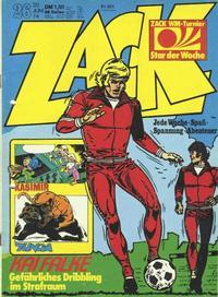 Cover Thumbnail for Zack (Koralle, 1972 series) #26/1974