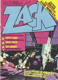 Cover Thumbnail for Zack (Koralle, 1972 series) #30/1974