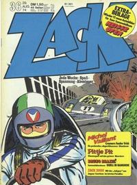 Cover Thumbnail for Zack (Koralle, 1972 series) #36/1974