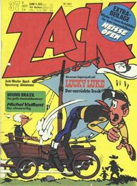 Cover Thumbnail for Zack (Koralle, 1972 series) #37/1974