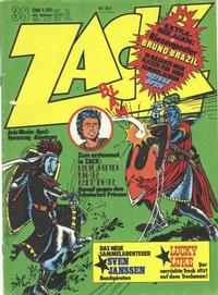 Cover Thumbnail for Zack (Koralle, 1972 series) #38/1974