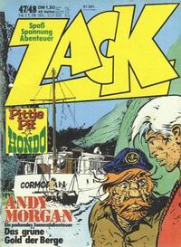 Cover Thumbnail for Zack (Koralle, 1972 series) #47-48/1974