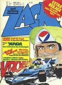 Cover Thumbnail for Zack (Koralle, 1972 series) #1/1975