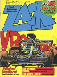Cover Thumbnail for Zack (Koralle, 1972 series) #5/1975