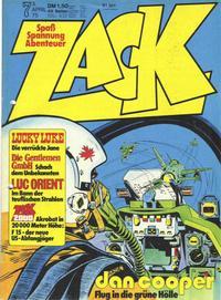 Cover Thumbnail for Zack (Koralle, 1972 series) #7/1975