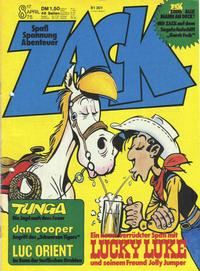 Cover Thumbnail for Zack (Koralle, 1972 series) #8/1975