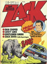Cover Thumbnail for Zack (Koralle, 1972 series) #9/1975
