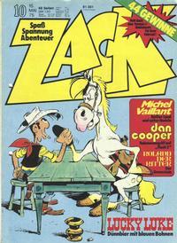 Cover Thumbnail for Zack (Koralle, 1972 series) #10/1975