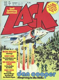Cover Thumbnail for Zack (Koralle, 1972 series) #11/1975