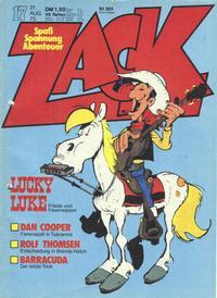 Cover Thumbnail for Zack (Koralle, 1972 series) #17/1975