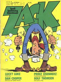 Cover Thumbnail for Zack (Koralle, 1972 series) #18/1975