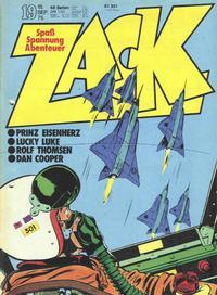 Cover Thumbnail for Zack (Koralle, 1972 series) #19/1975