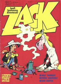 Cover Thumbnail for Zack (Koralle, 1972 series) #21/1975