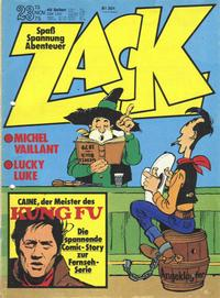 Cover Thumbnail for Zack (Koralle, 1972 series) #23/1975