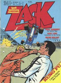 Cover Thumbnail for Zack (Koralle, 1972 series) #24/1975