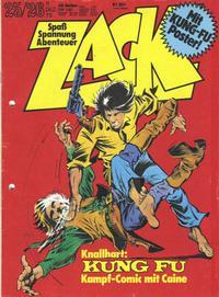 Cover Thumbnail for Zack (Koralle, 1972 series) #25-26/1975