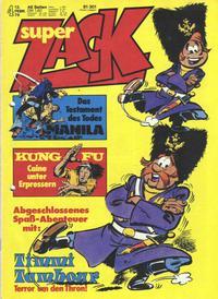 Cover Thumbnail for Zack (Koralle, 1972 series) #4/1976