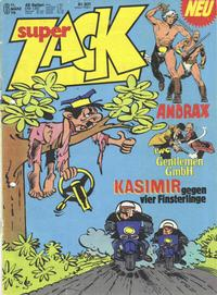Cover Thumbnail for Zack (Koralle, 1972 series) #6/1976