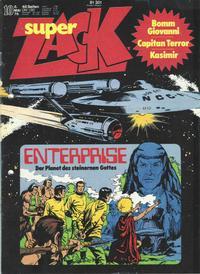 Cover Thumbnail for Zack (Koralle, 1972 series) #10/1976