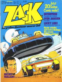 Cover Thumbnail for Zack (Koralle, 1972 series) #17/1976