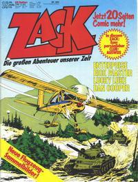 Cover Thumbnail for Zack (Koralle, 1972 series) #18/1976