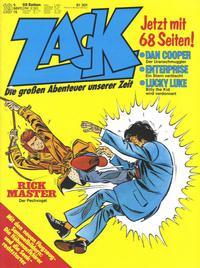 Cover Thumbnail for Zack (Koralle, 1972 series) #19/1976