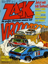 Cover Thumbnail for Zack (Koralle, 1972 series) #21/1976