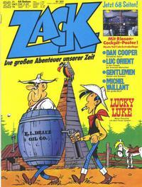 Cover Thumbnail for Zack (Koralle, 1972 series) #22/1976