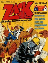 Cover Thumbnail for Zack (Koralle, 1972 series) #23/1976