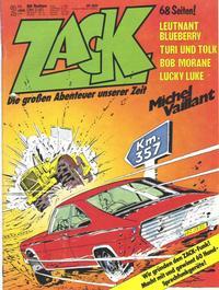 Cover Thumbnail for Zack (Koralle, 1972 series) #2/1977