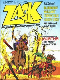 Cover Thumbnail for Zack (Koralle, 1972 series) #4/1977