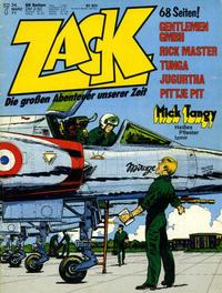 Cover Thumbnail for Zack (Koralle, 1972 series) #7/1977
