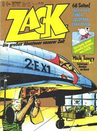 Cover Thumbnail for Zack (Koralle, 1972 series) #9/1977
